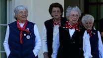 Real-life 'Rosie Riveters' Honored at White Hous