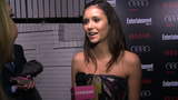 Video: Nina Dobrev Shares Her SAG Awards Pick - Ben Affleck!