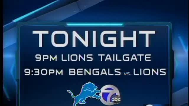 Lions first pre-season game