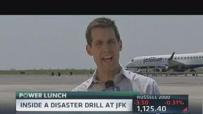 Inside disaster drill at JFK Airport
