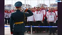 Olympic Flame In Sochi After World's Longest Relay