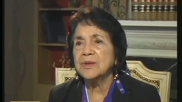 Dolores Huerta Receives the Medal Of Freedom