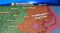 Warning, watches issued as Tropical Storm Andrea approaches