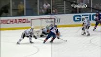 Crawford robs Okposo from point blank