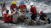 Military Rescue Team Describes Saving Family at Sea With a Sick Baby