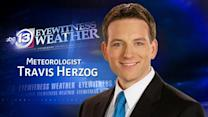Travis Herzog's Monday weather forecast