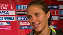 "Winning World Cup is ""best feeling"" says Carli Lloyd"