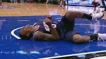 Teague Turns His Ankle