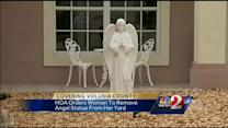 Residents told to remove yard statues, or face fines