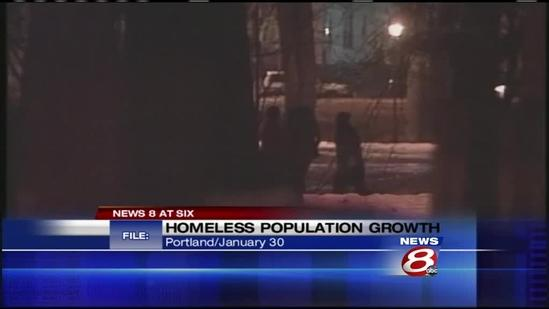 Homelessness up 8 percent in Maine