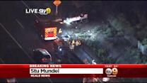 WB 91 Freeway To NB 710 Freeway Closed By Multi-Car Crash