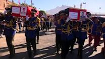 Mass funeral for 52 people killed in Yemen