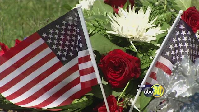 Tribute held for fallen service members from Buchanan High School