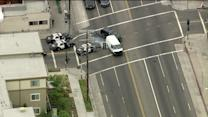 Wild High Speed Pursuit in South L.A. Puts Motorists in Danger