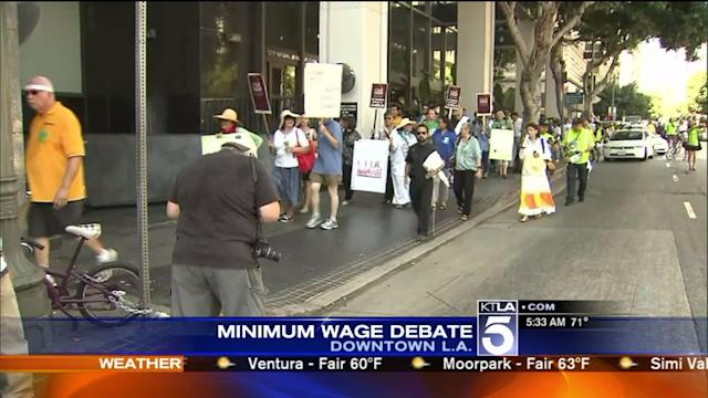 Minimum Wage Hike Debated