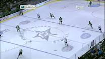 Paul Stastny faked out by Lindy Ruff whistle