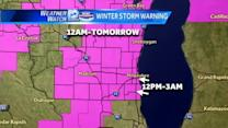 Winter Storm and Blizzard Warnings issued