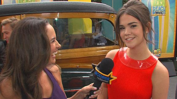 Maia Mitchell Dishes On 'Teen Beach Movie'