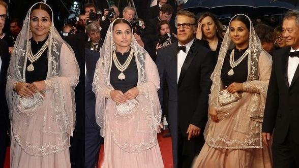 Vidya's shows Indianness in Cannes