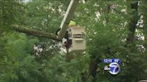 Thousands without power in New Jersey