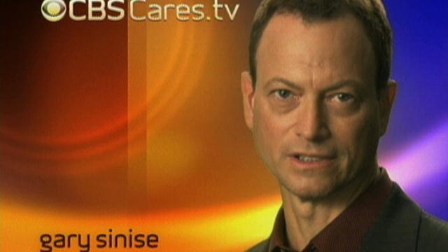 CBS Cares - Gary Sinise On Child Abduction