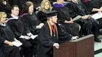 Valedictorian defies school, recites Lord's Prayer