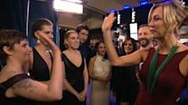 Golden Globes 2013: Backstage With the Stars
