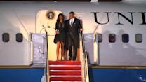 Obama family attends wedding of long-time aide