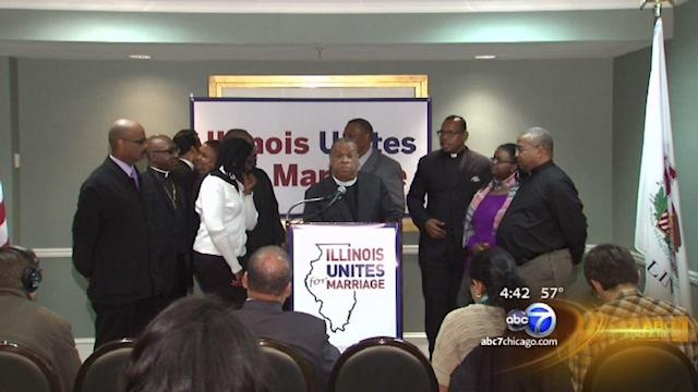 African-American clergy members amp up support of gay marriage