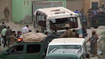 Suicide bomb hits army bus in Kabul, at least two dead