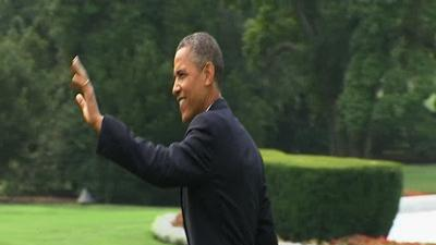 Four years on, Obama appeals for a second term
