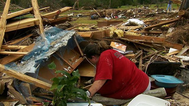 Tornado recovery in full swing for holiday weekend