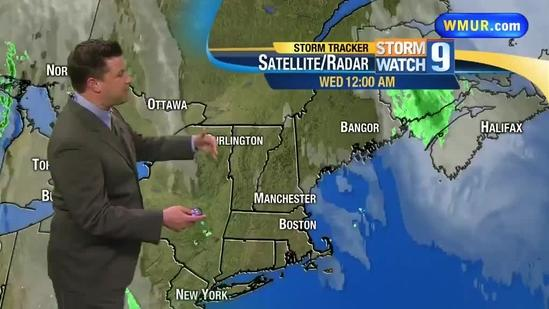 Showers develop by evening commute