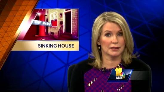 City officials still investigating cause of sinking house