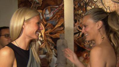 Gwyneth Paltrow And Molly Sims 'Bent' On Helping Children