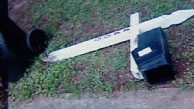 Woman's mailbox trashed by city truck