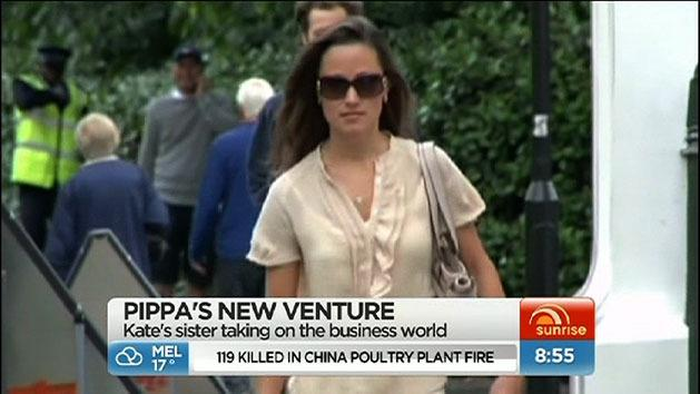 Pippa Middleton launches business venture