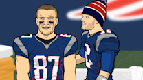 Sports Friends - Brady Goes Off on Gronk