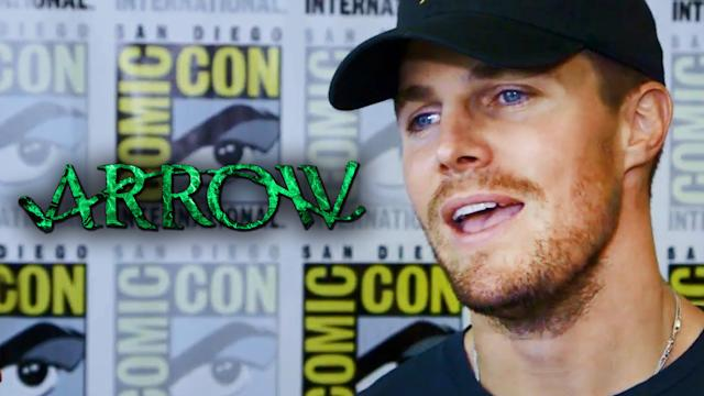 Stephen Amell Talks Oliver/Felicity Relationship & IVs - Comic-Con 2014