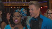 Amber Riley On Conquering The Jive: 'I Can't Believe I Survived!'