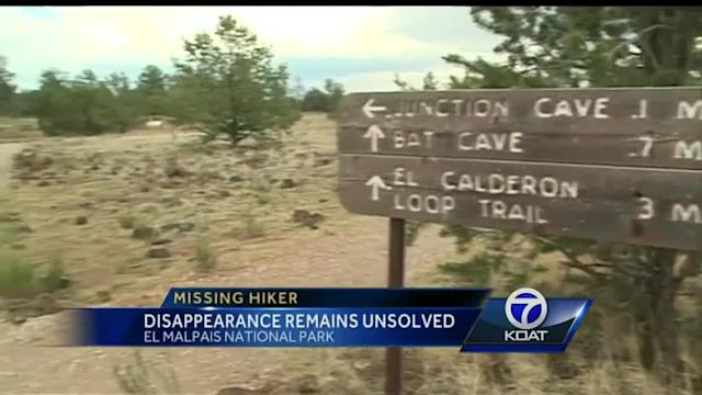 Missing hiker: Disappearance remains unsolved