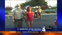 17 Arrested in Zimmerman Trial Protest in Victorville