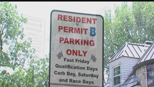 Speedway puts brakes on street parking
