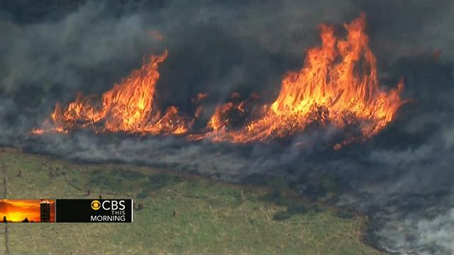 So. Calif. wildfires consumes thousands of acres