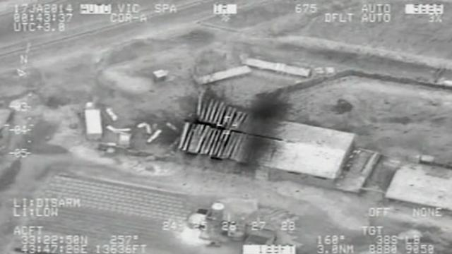 New Iraqi defense ministry video shows bombing of insurgents
