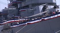 Veterans honored at USS Iowa in San Pedro