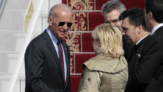 Biden in Kiev to announce U.S. aid package to Ukraine