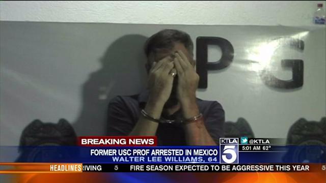 Ex-University Professor on Most Wanted List Arrested in Mexico