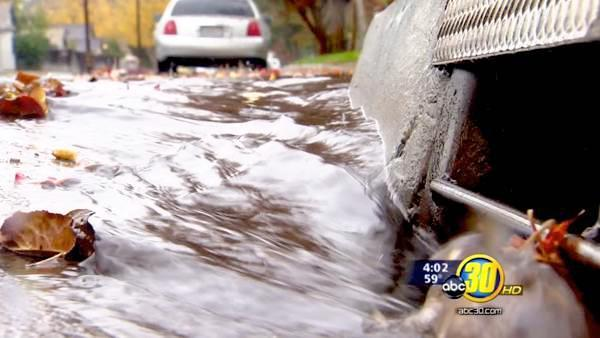 First of two storms brings rain to the Valley