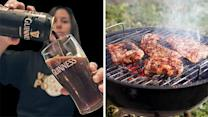 Report: Marinating meat with beer reduces cancer risk